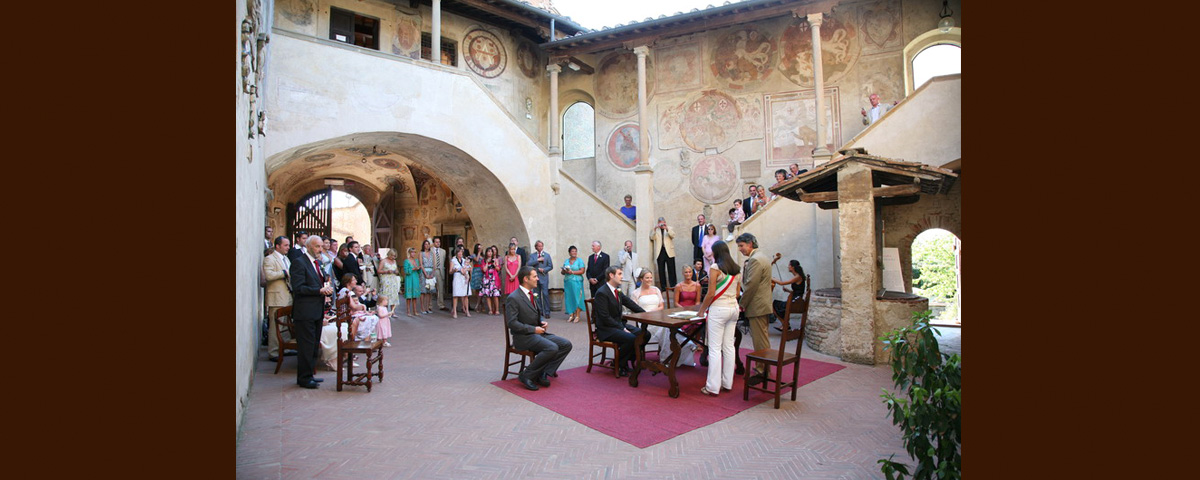Certaldo - A Legal Ceremony Location