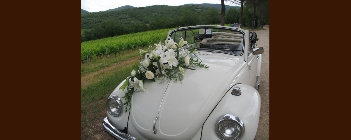 A Wedding Ceremony Car