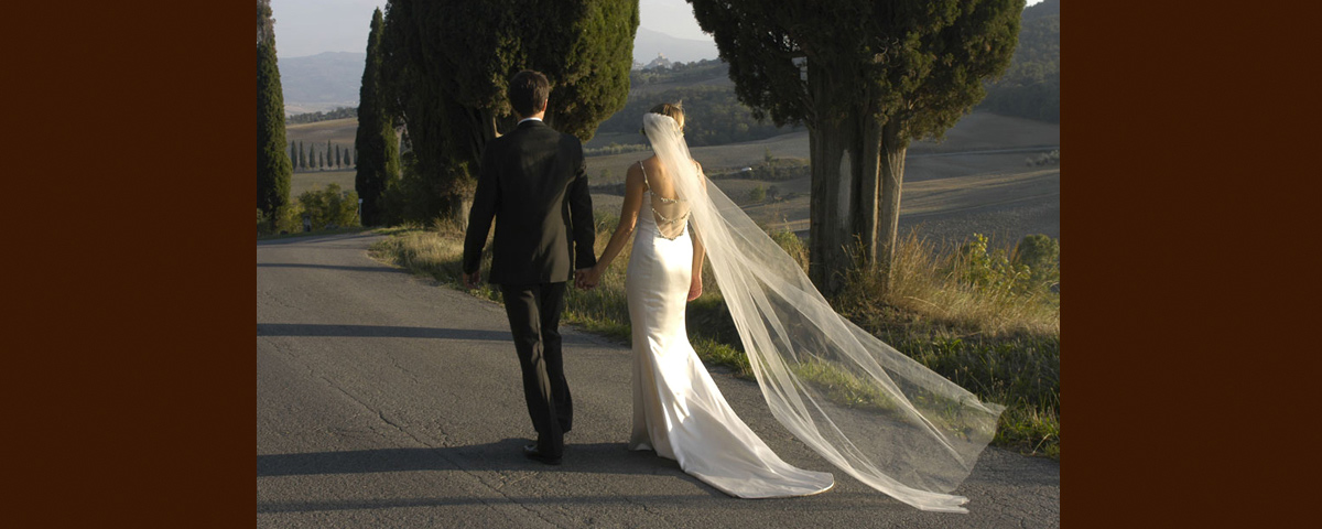 A Romantic Walk in Tuscan Countryside
